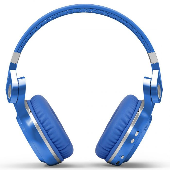 Bluedio T2s Bluetooth Headphones On Ear with Mic, 57mm Driver