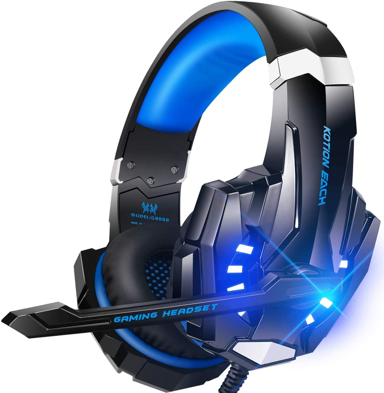 Features of BENGOO G9000 Stereo Gaming Headset